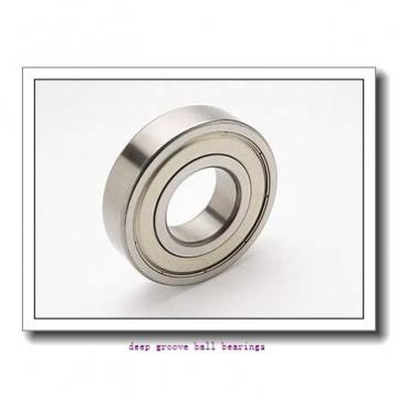 32 mm x 65 mm x 17 mm  KOYO 62/32-2RD deep groove ball bearings